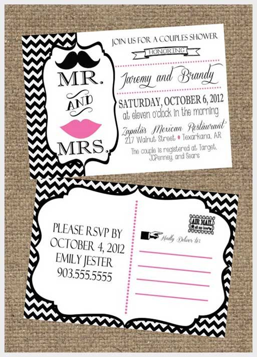 ddf3c99af371 Couples wedding shower invite that could also work for baby shower ...
