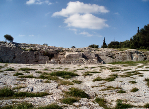 The Pnyx (Greek: Πνύκα) is a hill in central Athens, the capital of Greece. Beginning as early as 507 BC, the Athenians gathered on the Pnyx...