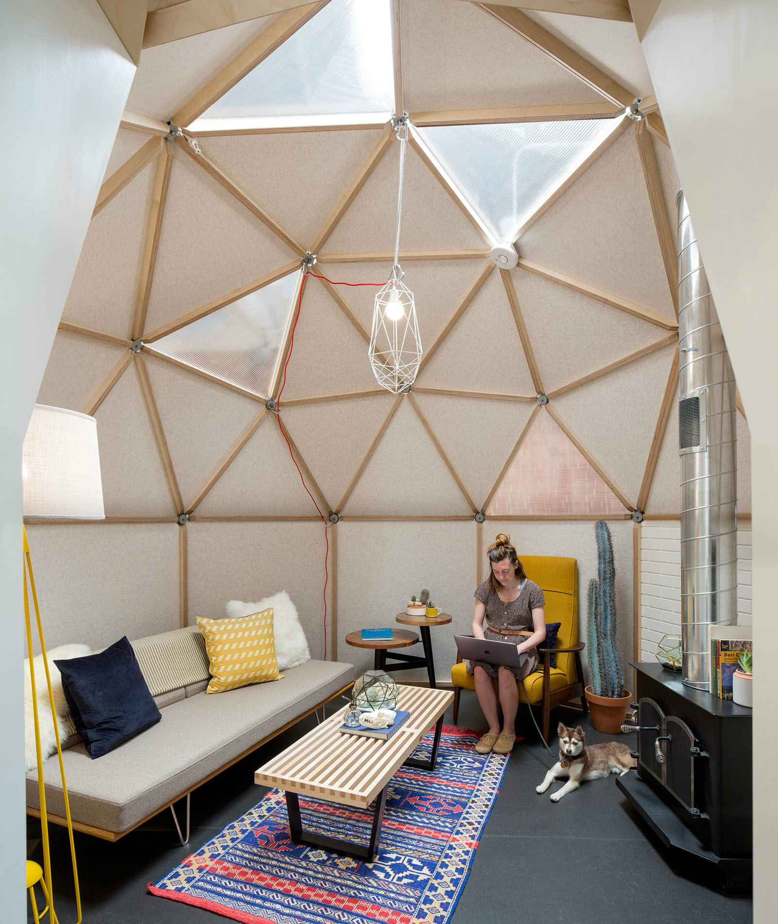 Dome Home Interiors: Airbnb CX Hub,Phase II