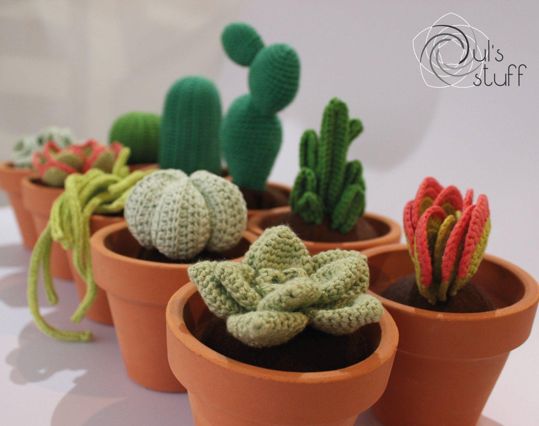 Amigurumi Cactus : Amigurumi cactus crochet slugom for