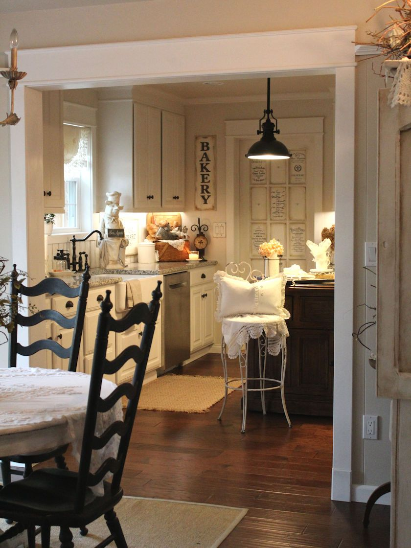 Country Farm Kitchen Decor Our French Farmhouse Kitchen Remodel Country Life Pinterest