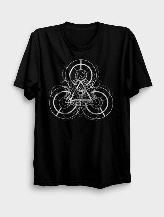 Sacred Geometry Shirt   Flower of Life   Seed of Life   Yoga Shirt   Tribal  Shirt  Psy Techno Shirt c7211446dd8