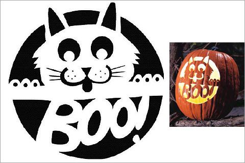 28 Cat Pumpkin Stencils For The Ultimate Halloween Jack O Lantern