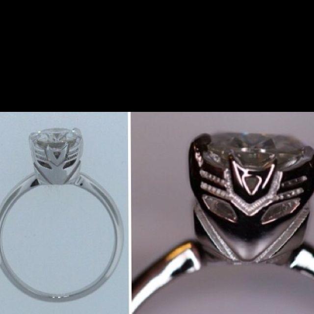 Decepticon engagement ring.