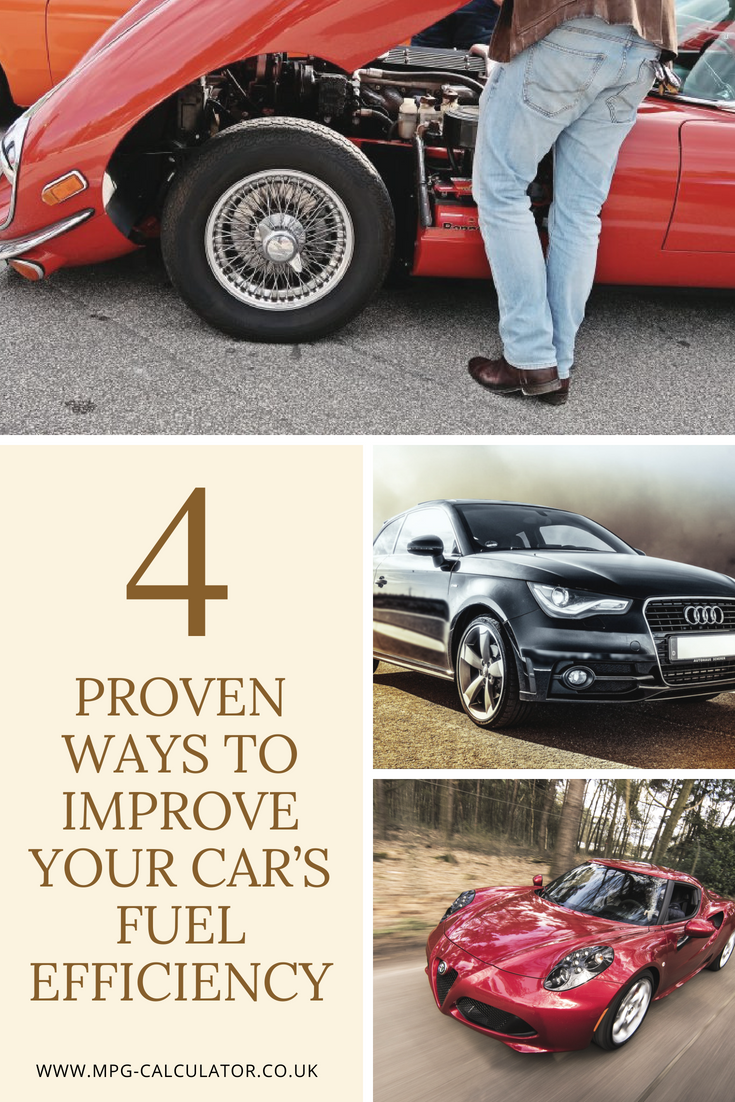 Four Proven Ways to Improve Your Car's Fuel Efficiency