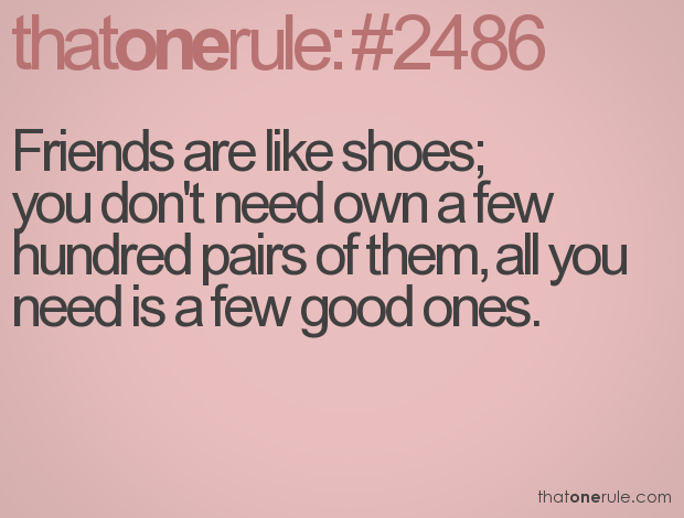 Quotes About Shoes And Friendship - buyretina.us