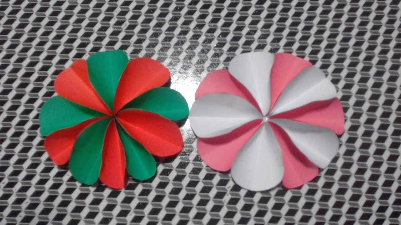 Origami Super Easy Paper Flower 2018 Easy Paper Craft Idea Paper