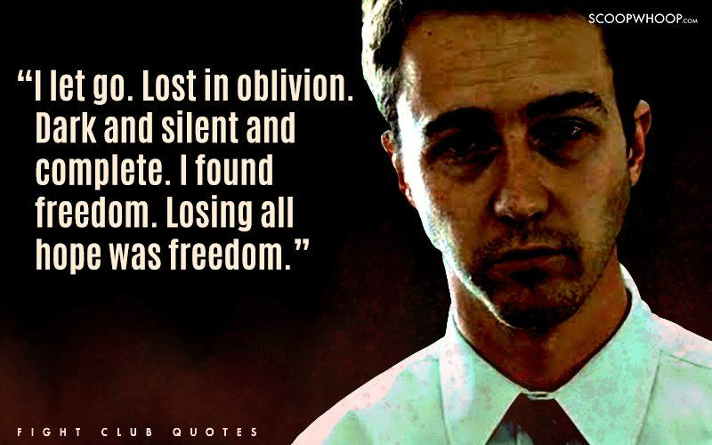 Fight Club Quotes Stunning 48 Badass Quotes From Fight Club That Teach You More About Life Than