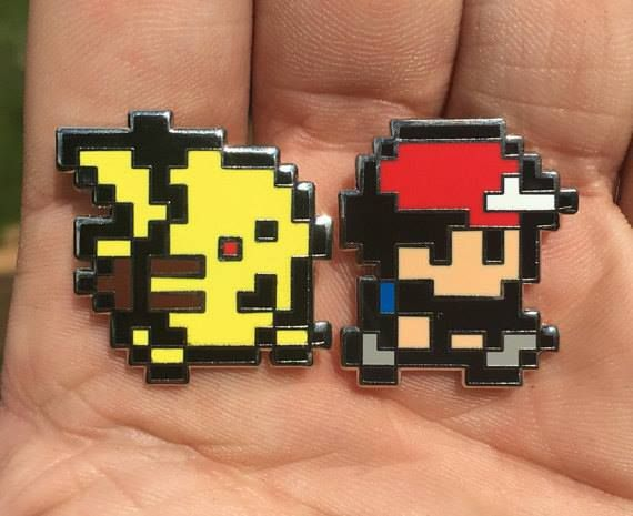 Ash and Pikachu Pins #Pokemon CHECK IT OUT HERE  http://ift.tt/2apZY2p  More here  http://nsfwallets.com/
