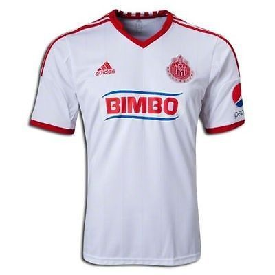 8ab5111c7 ADIDAS CHIVAS DE GUADALAJARA AWAY JERSEY 2013 Cheer on the Goats Pledge  your allegiance to the Goats - the greatest club in Mexico s Primera  Division. ...