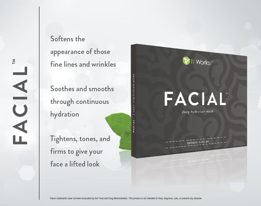 Rejuvenece tu piel y elimina las líneas de expresión desde los primero 45 minutos! Ideal para tu día a día... espectacular para ocasiones especiales! :)
