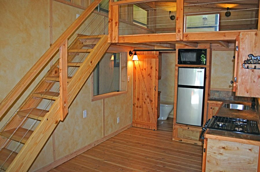 A 180 Square Foot Tiny House Built By Molecule Tiny Homes. I Love The  Sliding