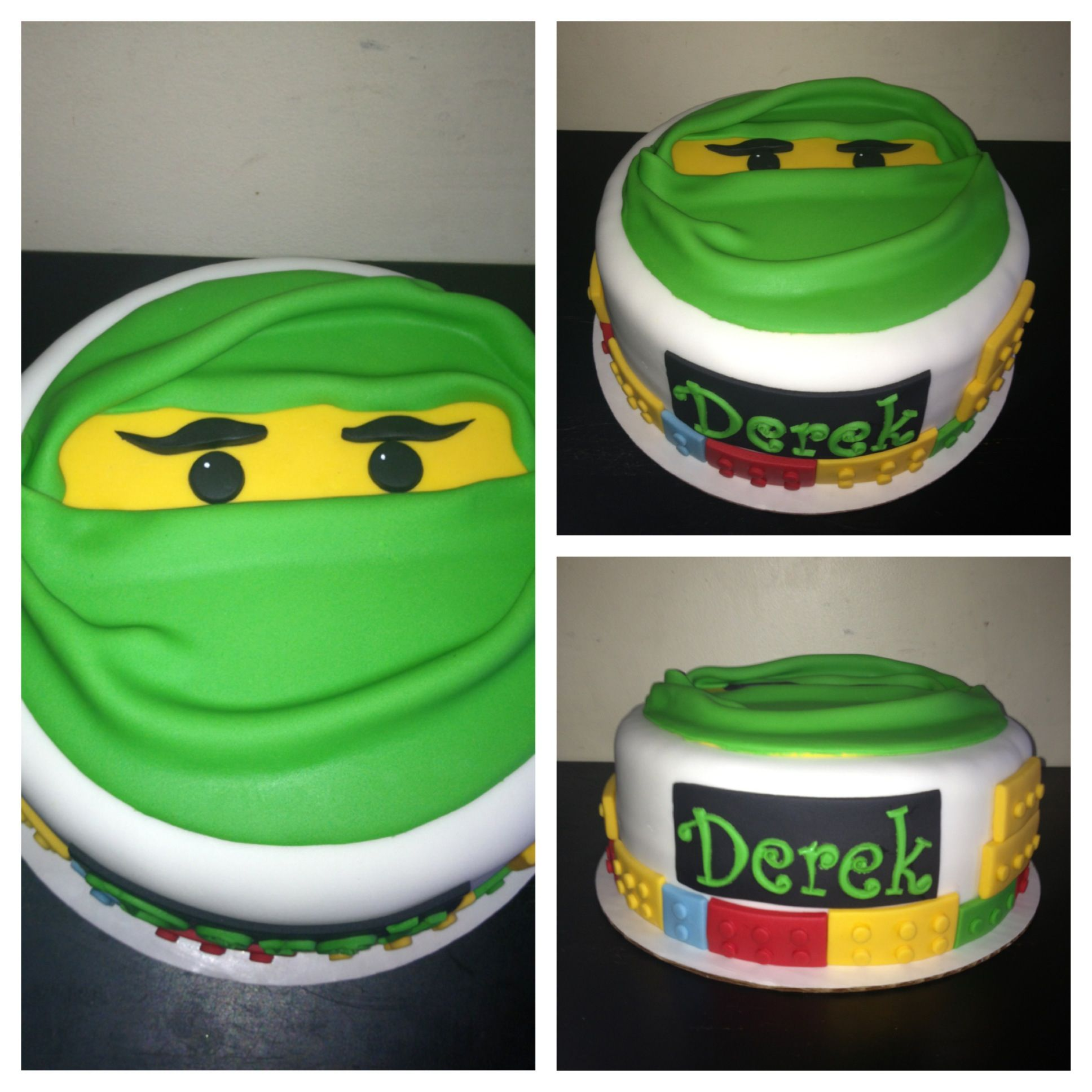 how to make a ninjago cake