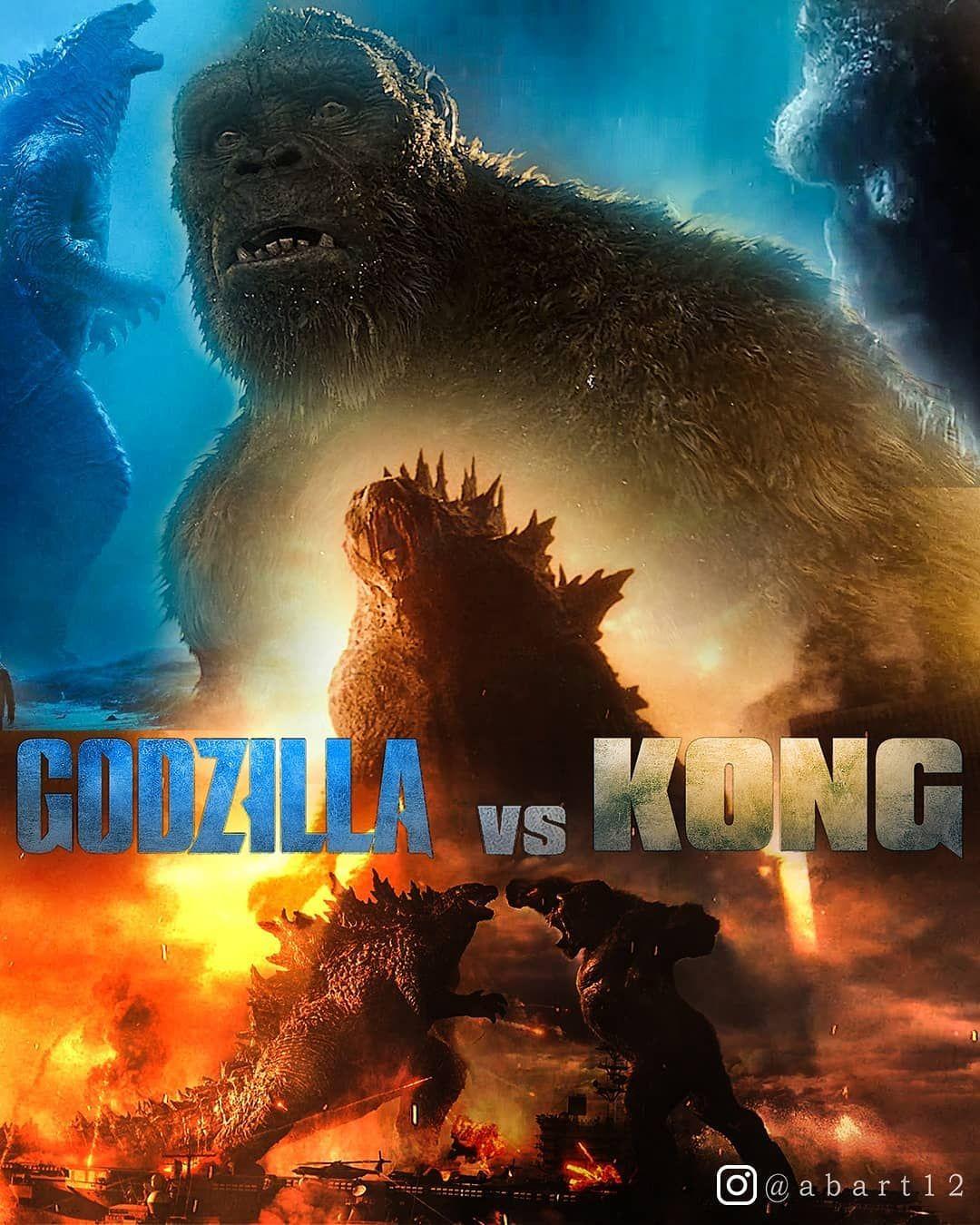 Promiseniloy On Instagram Godzilla Vs Kong Made A Quick Poster Of Godzilla Vs Kong Movie What You Guyz Think In 2021 Godzilla Vs All Godzilla Monsters Godzilla