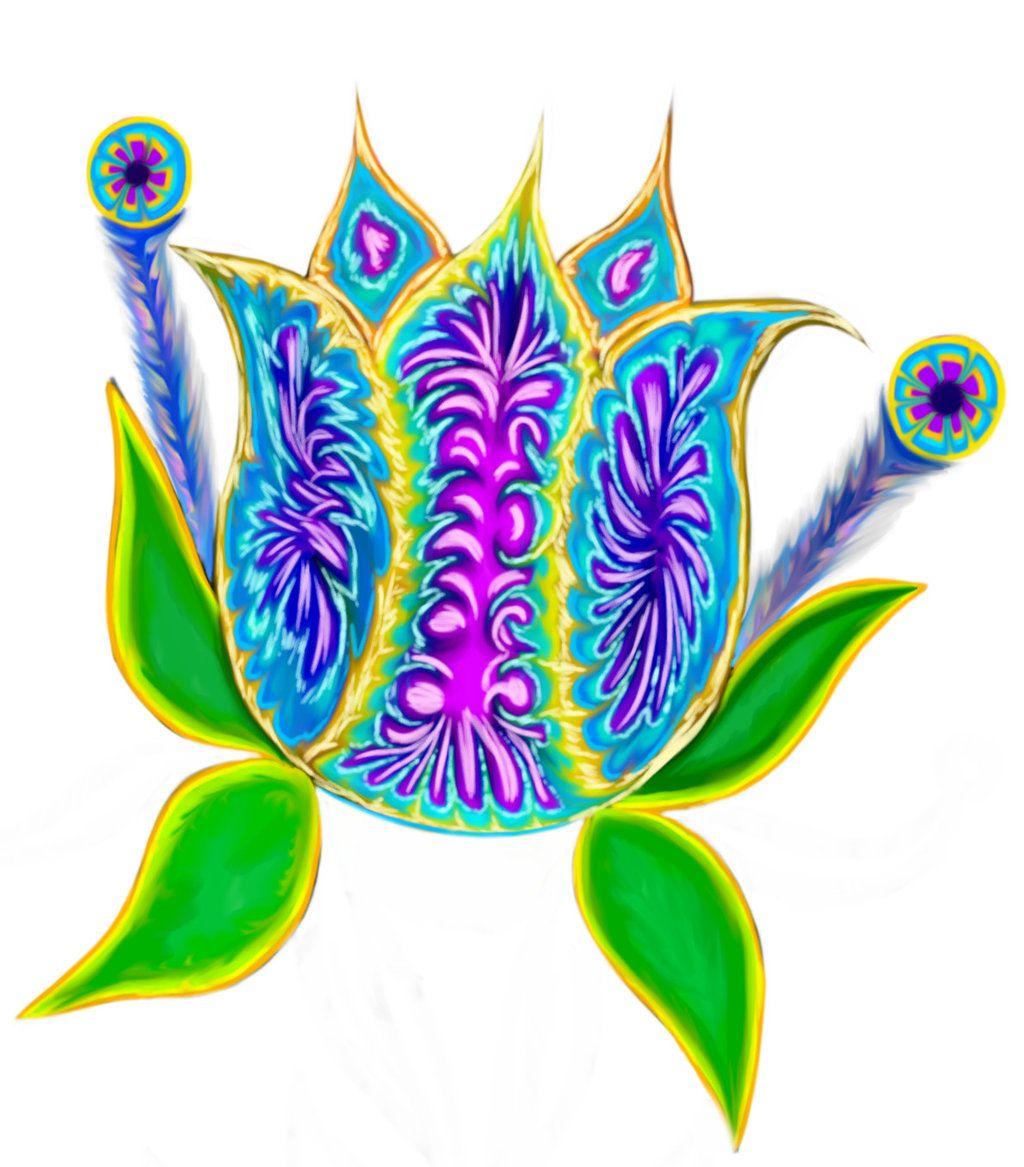 A Colorful Flower by VisualKeiBunny on DeviantArt