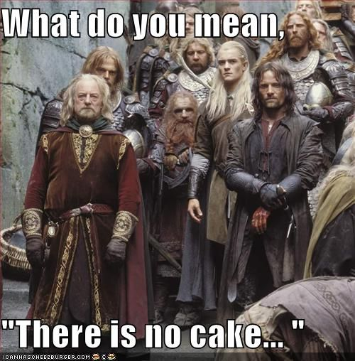 """What Do You Mean, """"There Is No Cake... """""""