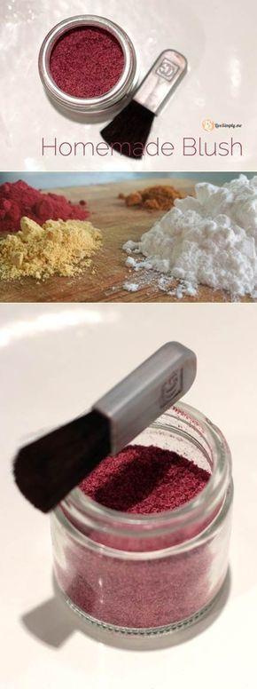 Photo of ¡Haga su propio colorete / bronceador casero totalmente natural por centavos!