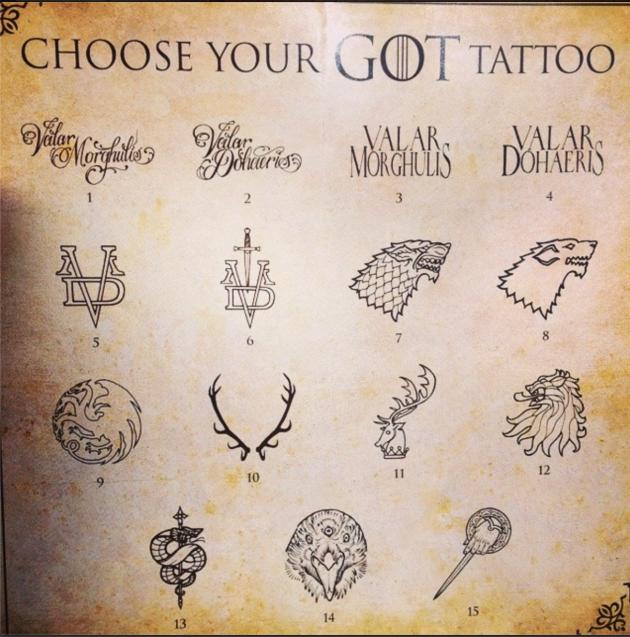 Tatouage Game Of Thrones Recherche Google Tattos Tatuajes