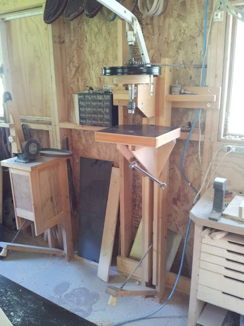 Toolmakers Notebook: Treadle Drill Press