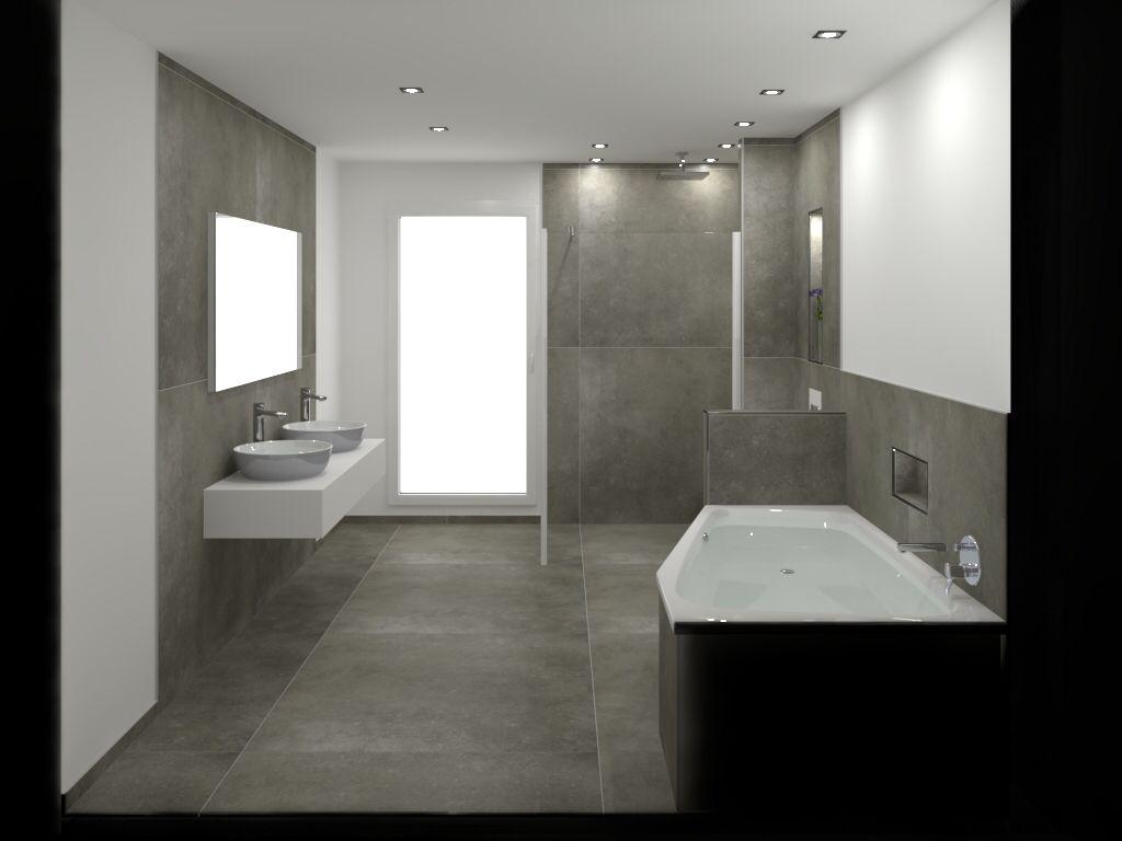 Primecollection Anversa Bodenfliese Grigio 60x60 Badezimmer Fliesen Schiefer Badezimmer Badezimmer