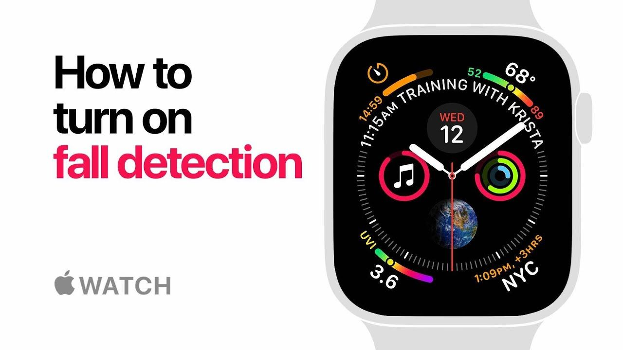 Apple Watch Series 4 — How to turn on fall detection