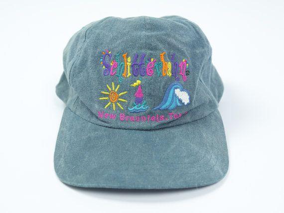 90s Schlitterbahn Hat Water Park Hat Vintage Water Slide Etsy Hats Vintage Hats Vintage
