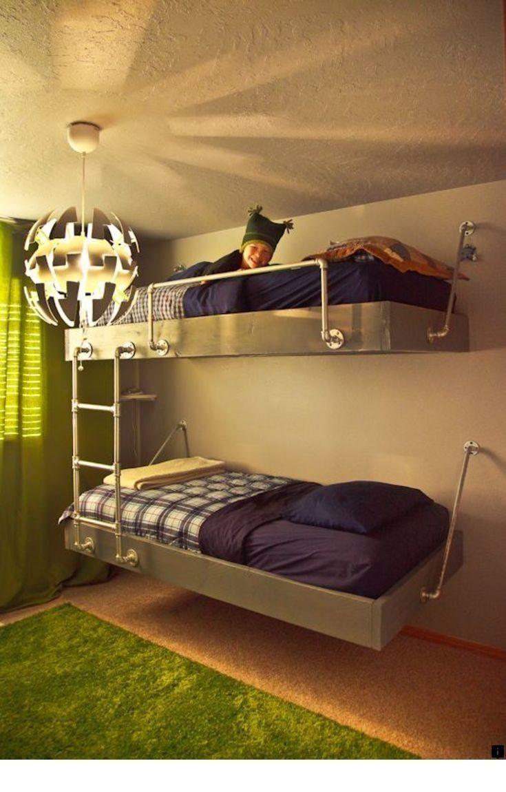 77 Most Popular Floating Bunk Beds Design 9749 Floatingbunkbeds Bunkbeds Bunkbeddesigns Bunk Beds Industrial Bunk Beds Diy Bunk Bed