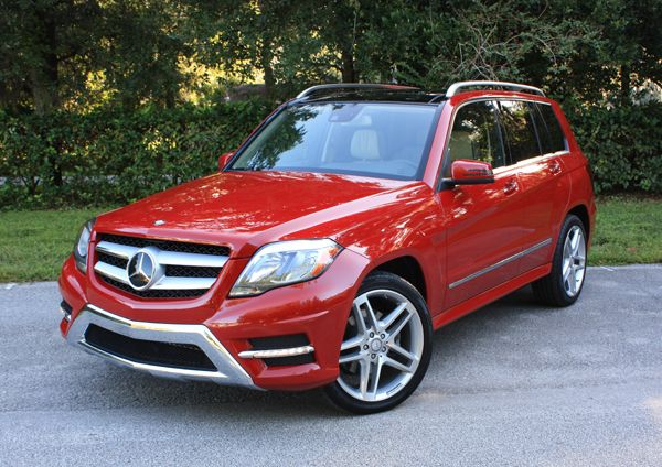 2013 Mercedes-Benz GLK350  Hubby says they are ugly but I can't help