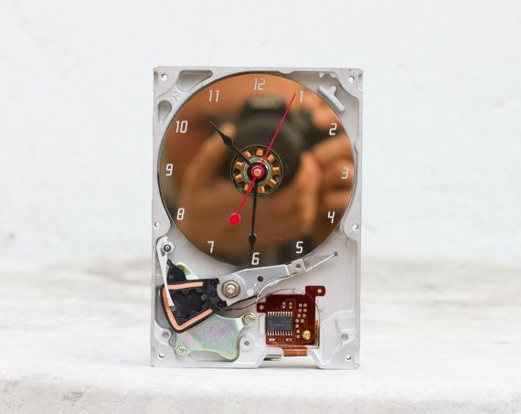 Techie Desk Clock
