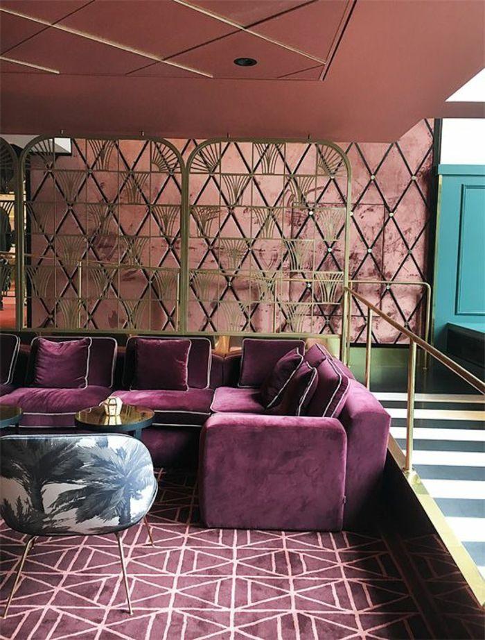1001 id es captivantes d 39 int rieur art d co recr er chez vous restaurant decor h tel. Black Bedroom Furniture Sets. Home Design Ideas