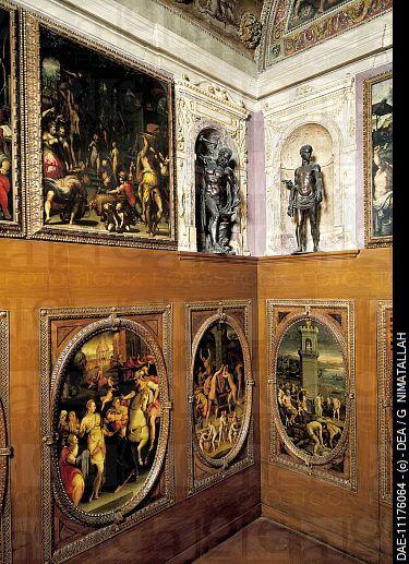 Small study of Francesco I, by Giorgio Vasari 1511_1574 ...