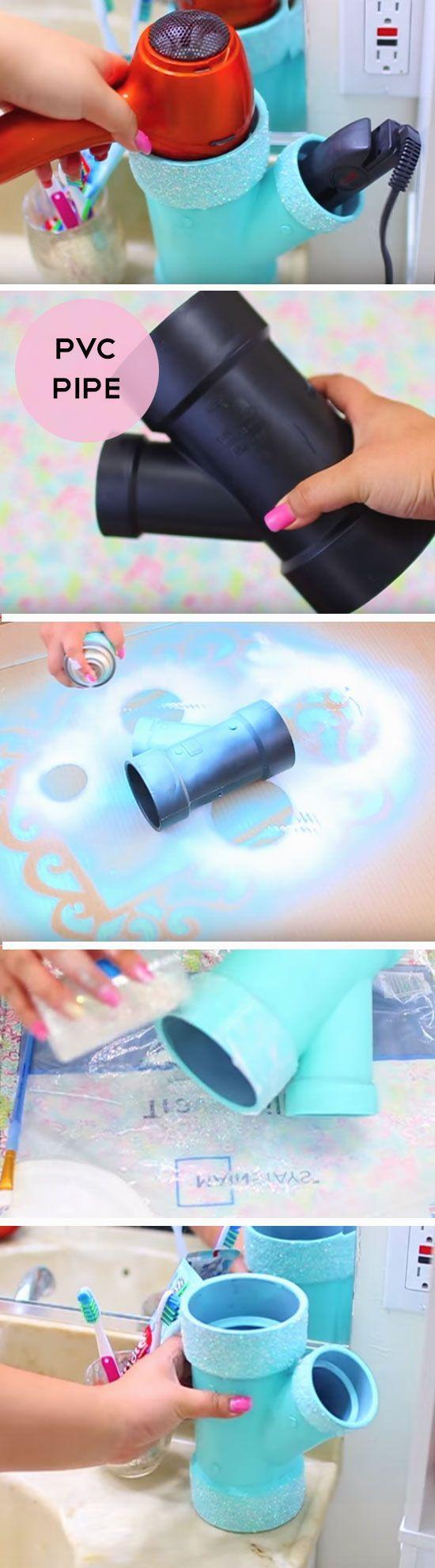 35+ coole DIY-Projekte mit PVC Rohr #cleaningandtools