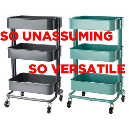 This Kitchen Cart Is The Only Ikea Item You Really Need: This Is The Råskog Ikea  Kitchen Cart.