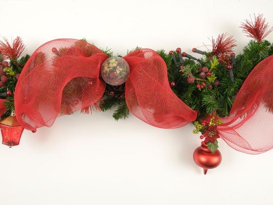 Paso a paso para hacer una guirnalda 1 navidad for Guirnaldas navidenas para puertas y ventanas