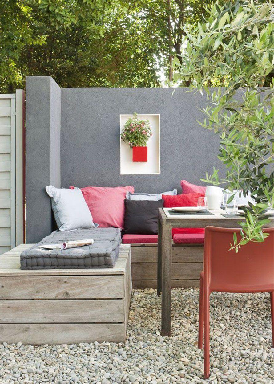 un jardin en couleur am nag comme un salon garden terrace jardins terrasse jardin et