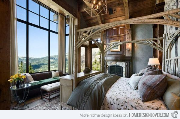15 rustic bedroom designs - Romantic Country Bedroom Decorating Ideas