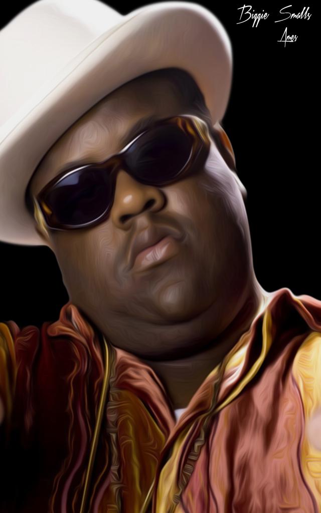 Biggie Smalls Portrait Rapper Delight Biggie Smalls Biggie