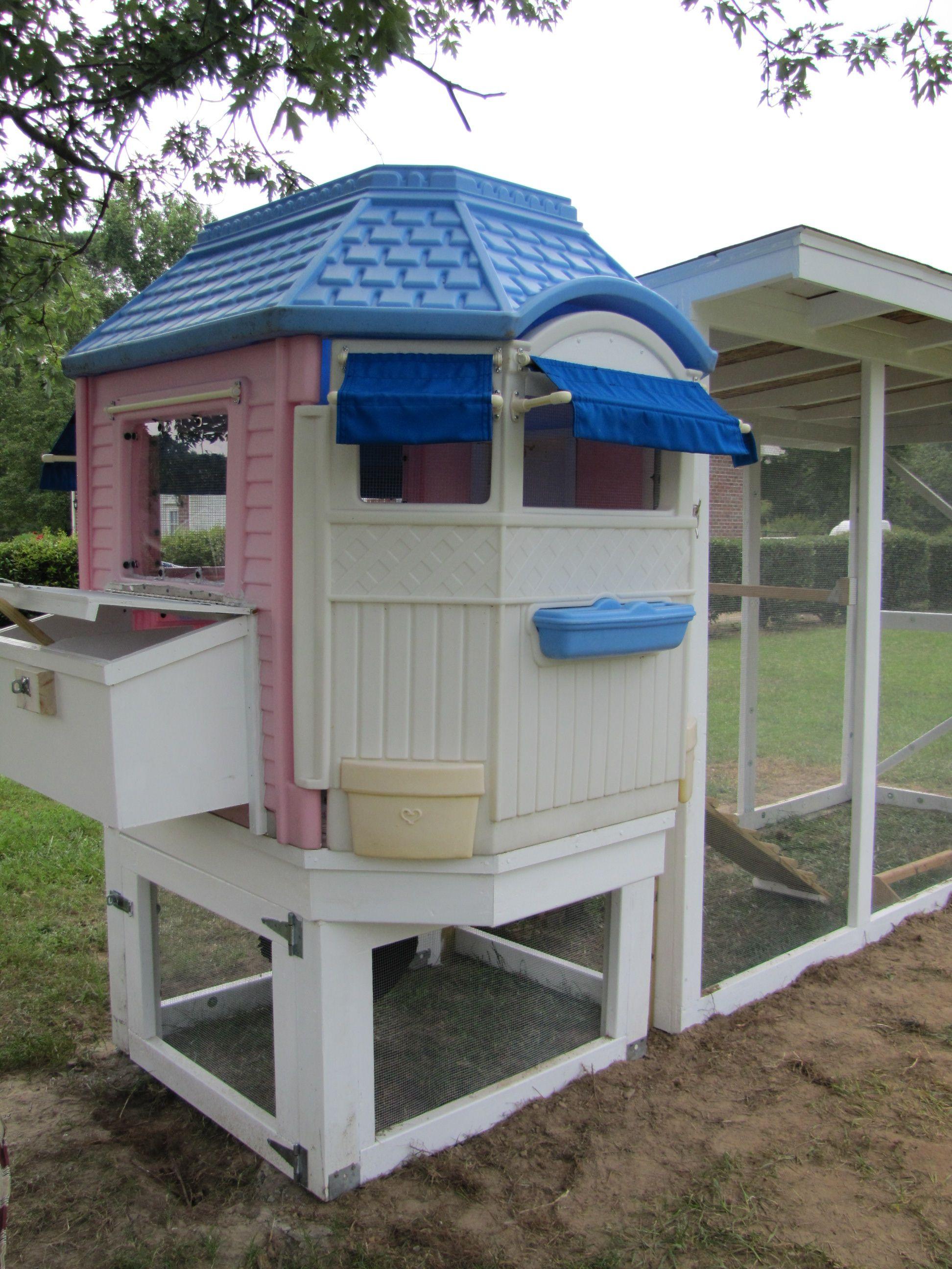 Little Tykes Castle Chicken Coop Little Tykes Chickens Backyard