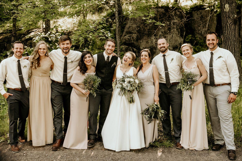 Duluth Mn Wedding Photography Spirit Mountain Empiria Studios Nature Wedding Dress Nature Inspired Wedding Wedding Bridesmaid Dresses