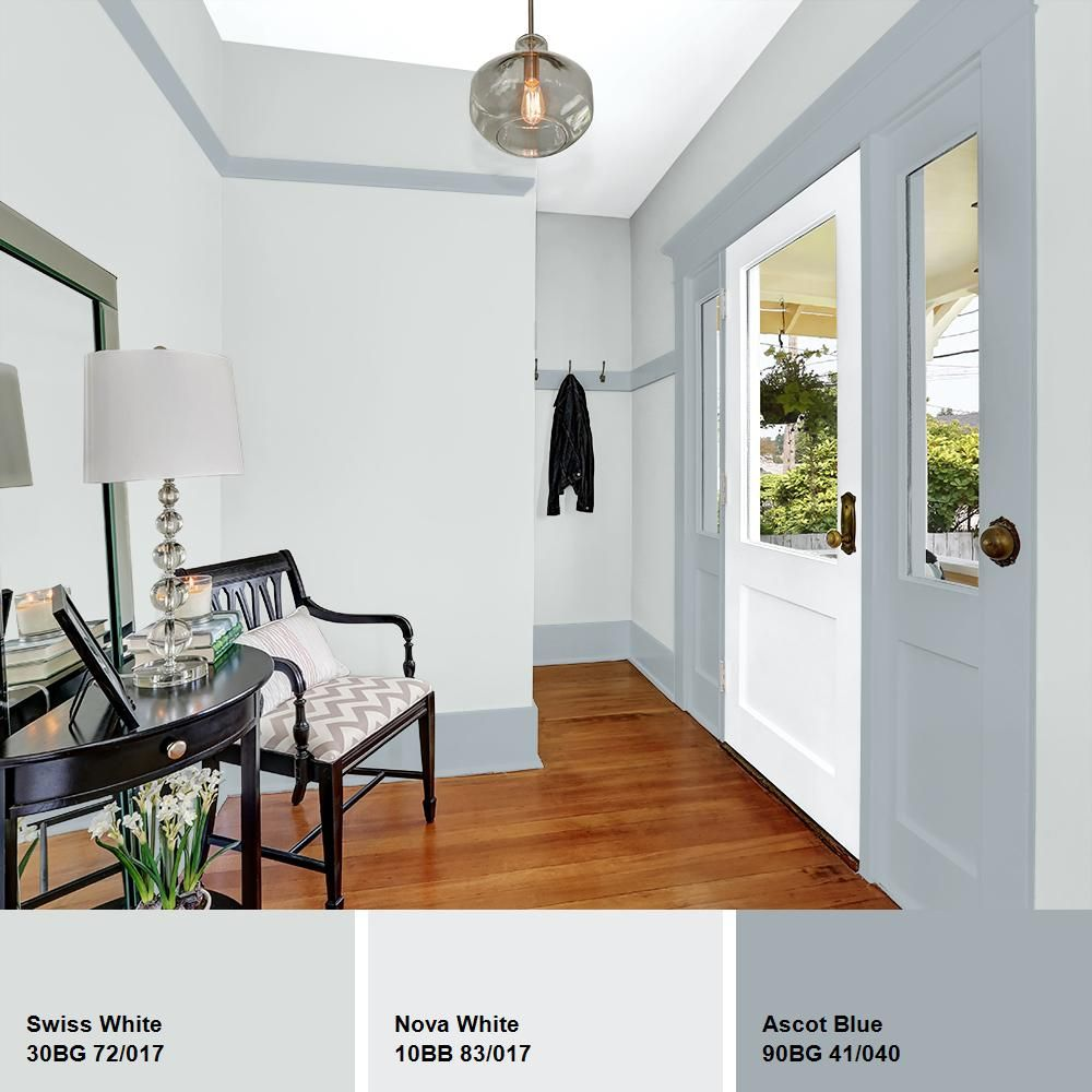 Glidden Essentials 1 Gal Hdgcn35d Swiss White Semi Gloss Interior Paint Hdgcn35de 01sn The Home Depot Interior Paint Paint Colors For Living Room Trendy Home Decor
