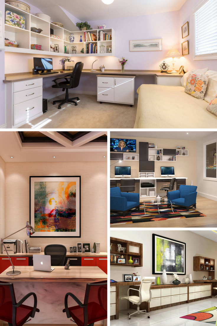 Genial 26 Magnificent Custom Home Office Designs By Closet Factory