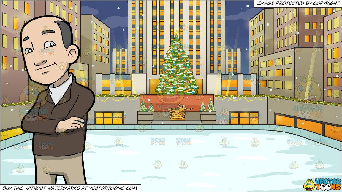Rockefeller Christmas Tree 2020 Went Dark A Balding Middle Aged Man and Rockefeller Center At Christmas