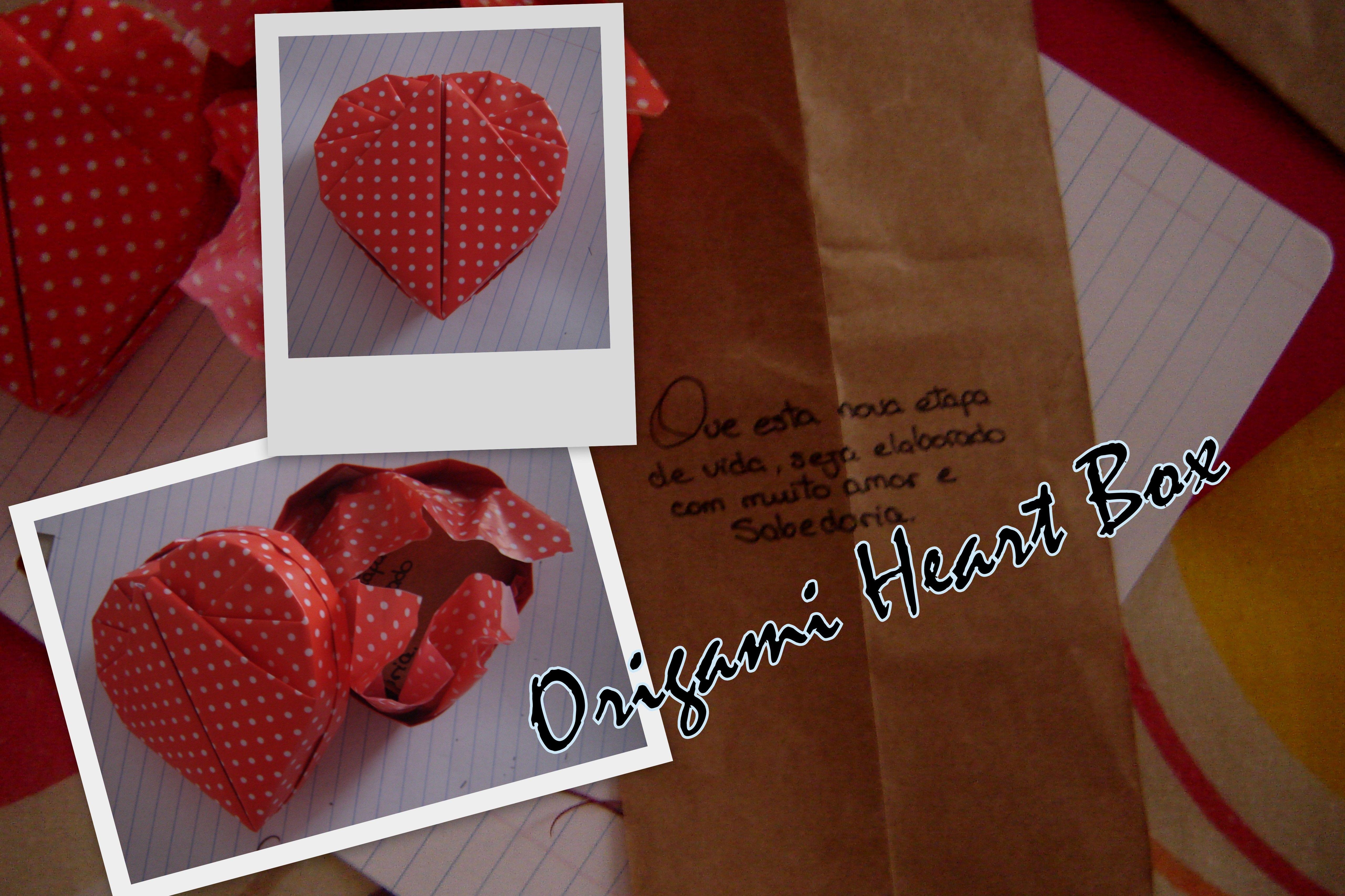 Origami Heart Box For Special And Different Gift Tutorial Here