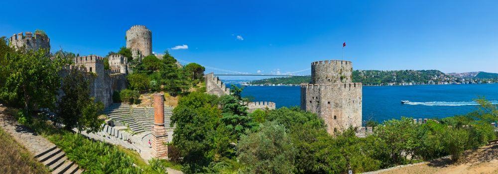 Rumelian #Castle on the #Bosphorus Strait of #Istanbul, Turkey - قلعة روم ألي على ساحل مضيق البسفور #اسطنبول