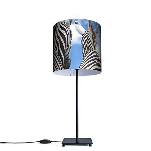 Ausgefallene Design Tischlampe Mit Motiv Zebra Http Led