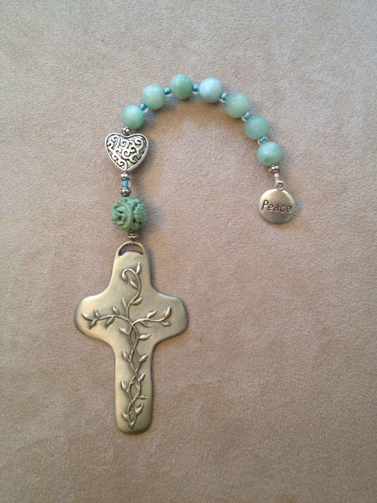 Handmade Pocket Christian Prayer Beads Reminding Us Of Gods Love