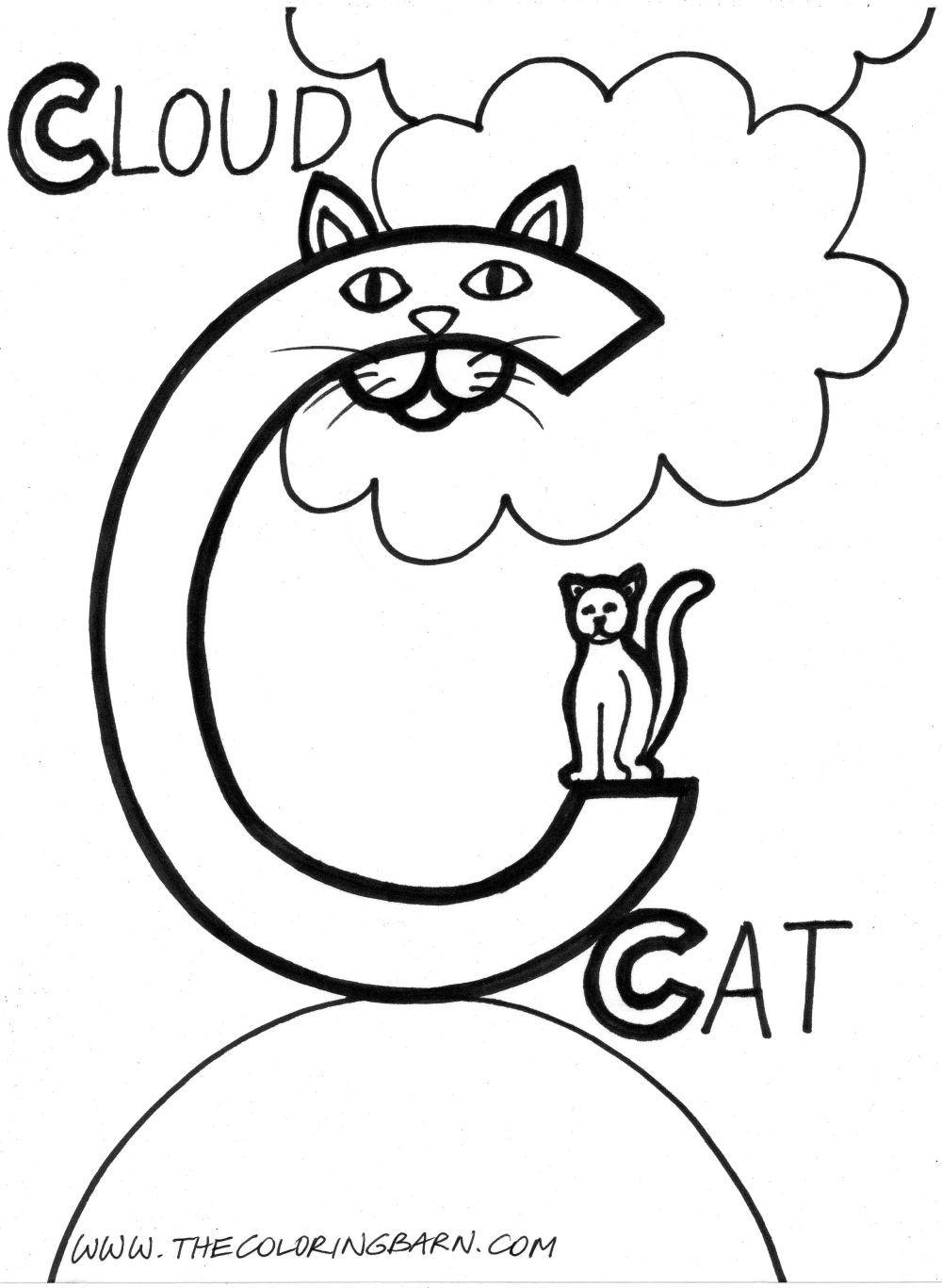 Letter C | C | Pinterest | Dibujo