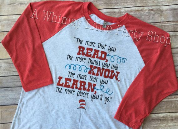 The More You Read Shirt Dr Seuss Shirt Read Across America