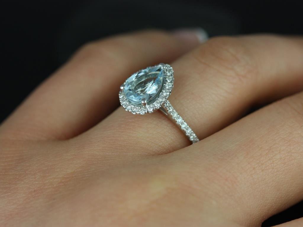 Ring · Thailand Aquamarine Diamond
