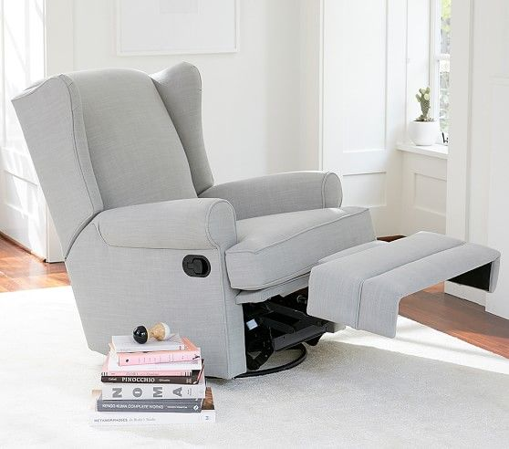 Wingback Rocker Amp Recliner Pottery Barn Kids Rocking